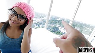 Petite Ebony Babe Gets Pounded video starring Nicole Bexley