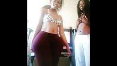 South african ridiculous big ass twerking