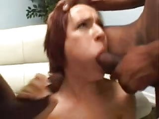 Lucky Fuck Anna Pierceson Blowbang