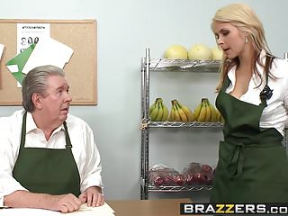 Brazzers - Baby Got Boobs -Only one way to save the store