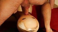 Sex Doll facial Creampie