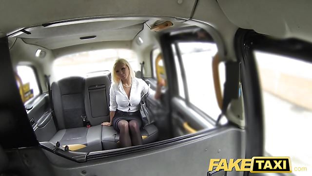 Preview 1 of Fake Taxi Hot estate agent gets creampied