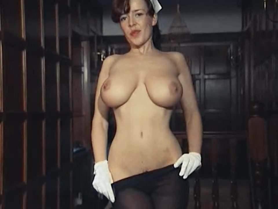 British Big Tits Strip Tease