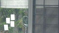 college latina neighbor window voyeur compilation