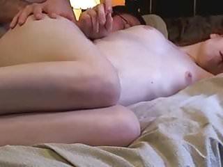 Cute pale skinned redhead gets long anal