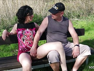Cuckold Watch his German Wife Fuck Stranger and eat Sperm
