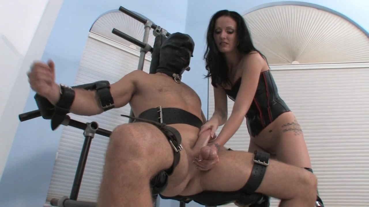 That interrupt milking chair handjob femdom theme simply