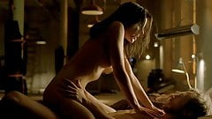 Anna Silk Rides A Guy In Lost Girl Series ScandalPlanet.Com's Thumb