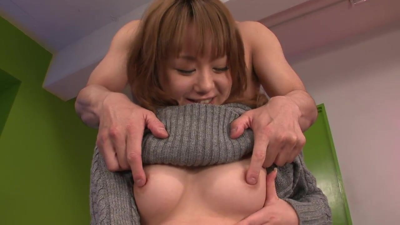 Hardcore pounding session with Asian babe and a stud