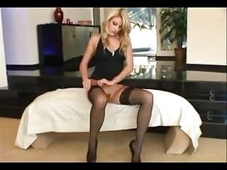 Fuck wear - Blonde milf fucked wearing stockings and high heels