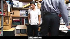 YoungPerps - Cute guy must suck big black cock