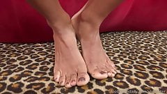 Anya Ivy Has Feet Worshipped and Gives a Sensual Footjob