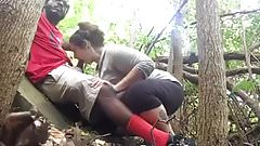 Bbc bj in the woods