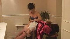 Madame C spanks Angelica