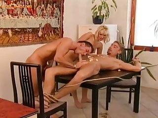 First bi threesome