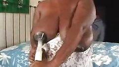 Black nipples on bbw leak milk
