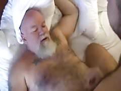 papy jute dans yn cul poilu
