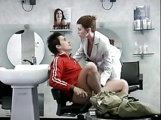 German Fucked In A Barber Shop by Cezar73
