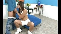 sporty latina creampie