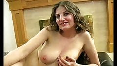 Pretty big tit slut bukkake