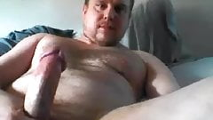 Cute Young Str8 Daddy cums on cam #36