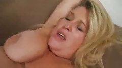 BBW Jenna Smeared With Cum