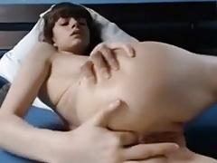 Teen anal masturbation