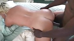 Black bull fucking blonde wife doggy