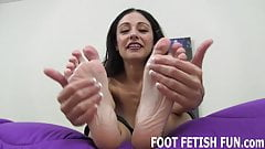I want you to lick between each one of my toes