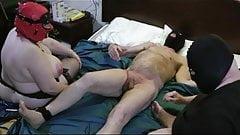 Teaching slut slave to switch 4of4