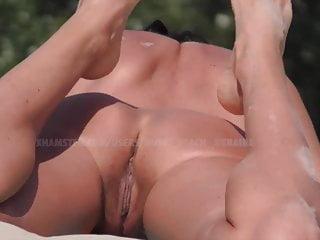 Nude beach Kiev Ukraine. Spy camera HD. Hot pussy
