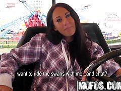 Mofos - Public Pick Ups - Theme Park Pickup starring  El Sto