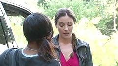 Interracial Lesbian