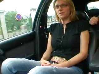 First time anal for French mature Meg