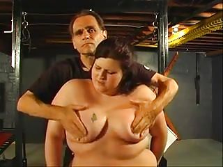 Bbw hottie explores her submissive side