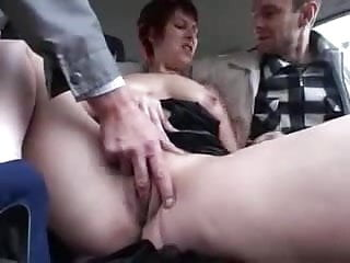 Swinger German Couple CarsexOutdoor - Part.2