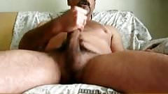 bearded daddy bear cumming