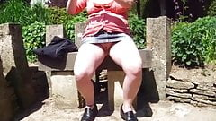 Pantieless Day Out at a Country House Garden