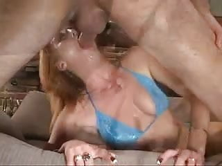 British slut Donna Marie wants cum on her eyeball