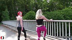 Bonnie-Stylez und Lara-CumKitten