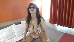 Tinja Explodes From Her Bud Bikini