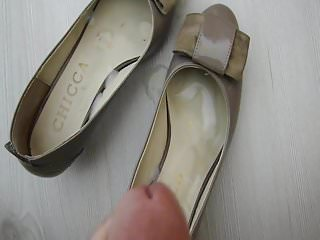 Cum in Shoes of Not My Mother in law