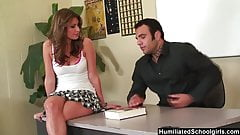 HumiliatedSchoolGirl - Victoria really wants good grades