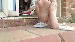 Thai asian feet 1