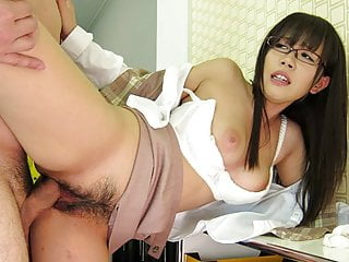 Office fuck that leaves the brunette skank wanting more