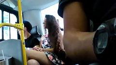 Nice legs in the bus