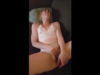 She Masturbating