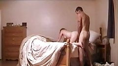 Wife gets rammed on bed