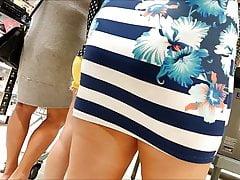 Spy and Voyeur Hot Blonde Slut with Sexy Dress's Thumb