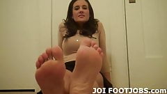 Your foot fetish fuck session starts now